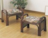 籐 らくらく座椅子 2個組み  ハイタイプ