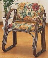 籐 思いやり座椅子 ハイタイプ
