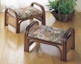 籐 らくらく座椅子 2個組み  ロータイプ