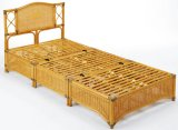 籐 ベッド シングルサイズ