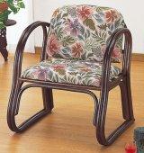 籐 デラックス思いやり座椅子 ハイタイプ