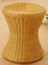 籐 スツール(高さ41cm)